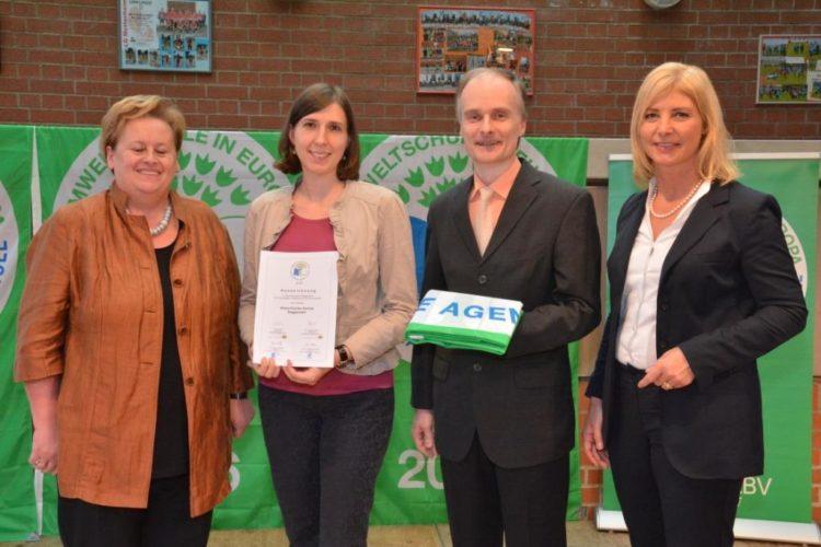 Aloys-Fischer-Schule wird erneut als Umweltschule ausgezeichnet