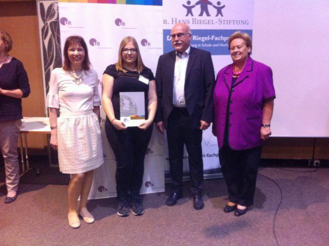 Verleihung der Dr. Hans Riegel-Fachpreise 2017 an der Universität Regensburg
