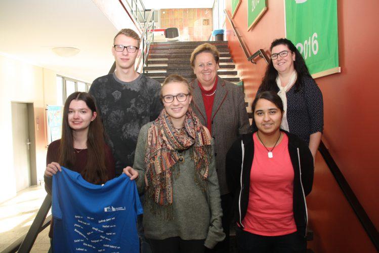 "AFS-Schüler nehmen am EU-Übersetzungswettbewerb  ""Juvenes Translatores"" teil"