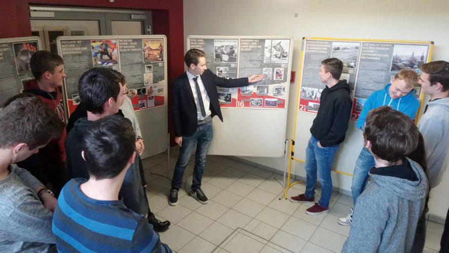 Ausstellung zum Kommunismus an der Aloys-Fischer-Schule