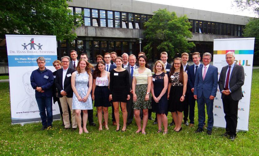Verleihung der Dr. Hans Riegel-Fachpreise 2018 an der Universität Regensburg