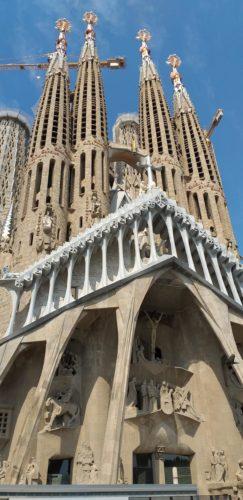 Sagrada Família - architektonischer Höhepunkt Barcelonas