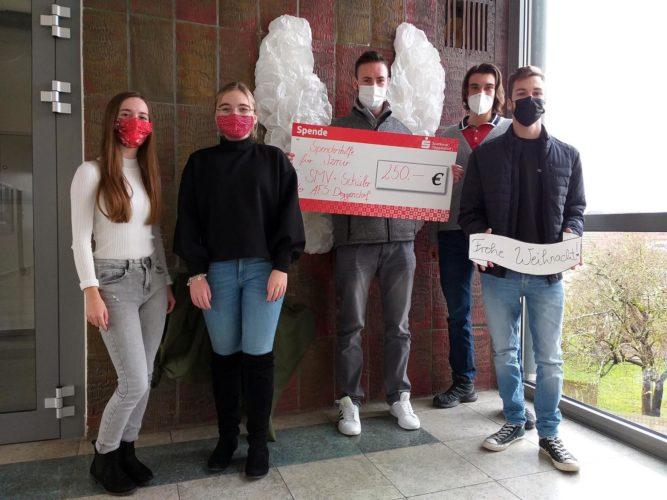 AFS-Schüler spenden für Erdbebenopfer